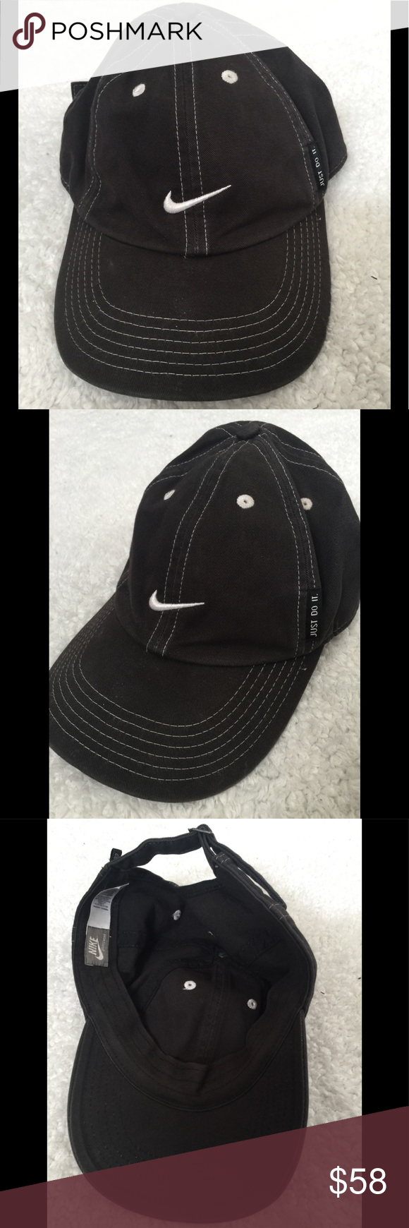ee1a345ca73 Nike baseball hat navy white nike logo Excellent condition Unisex Nike hat  Adjustable as shown in