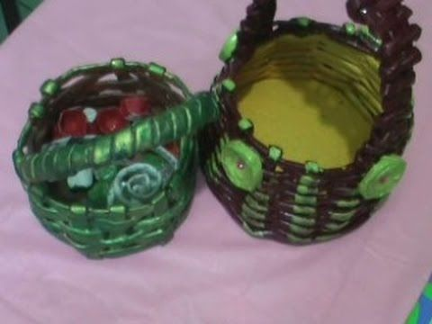 A Set Of Recycled Bottles - With Jute Decoration - YouTube