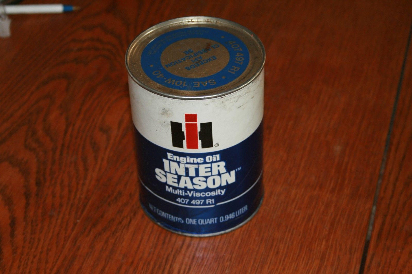 International Harvester Tractor Truck Scout Inter Season Engine Oil Can https://t.co/J3kZSCtDQb https://t.co/TDyGviVx21