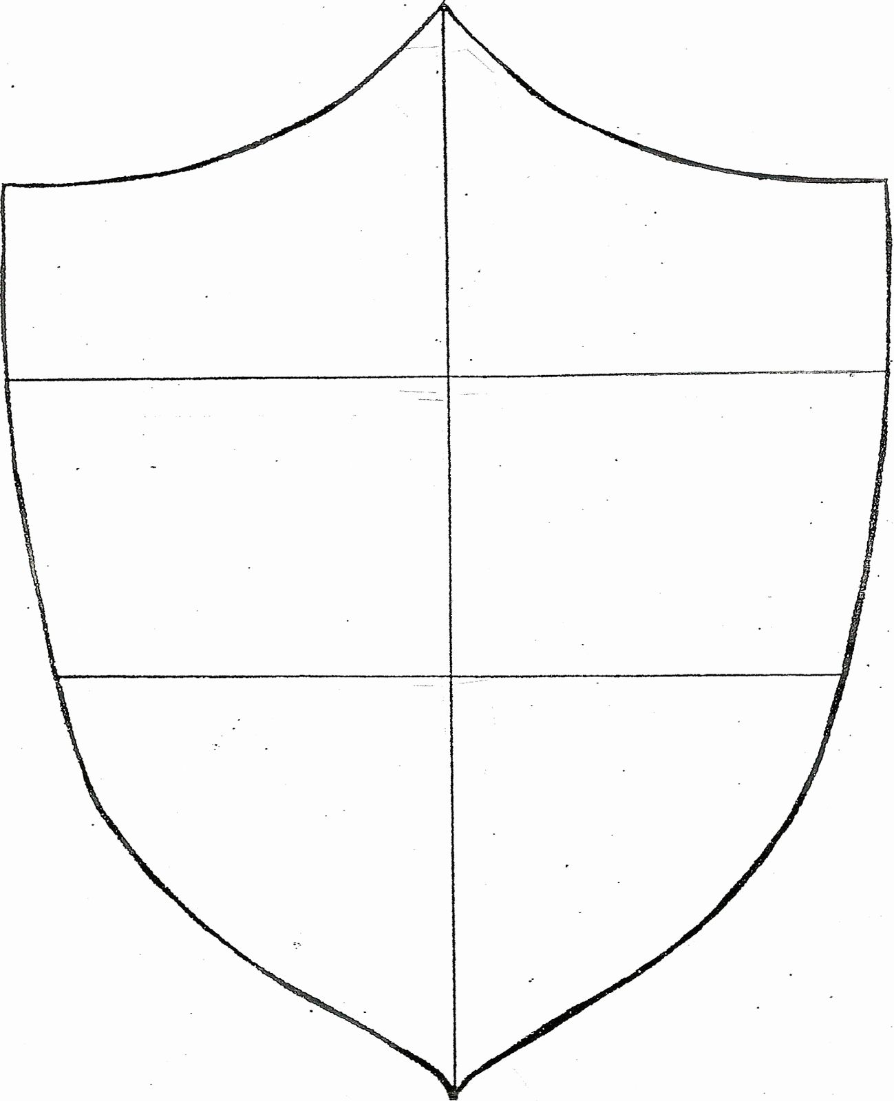 Coat Of Arms Template Printable Free Then Blank Family
