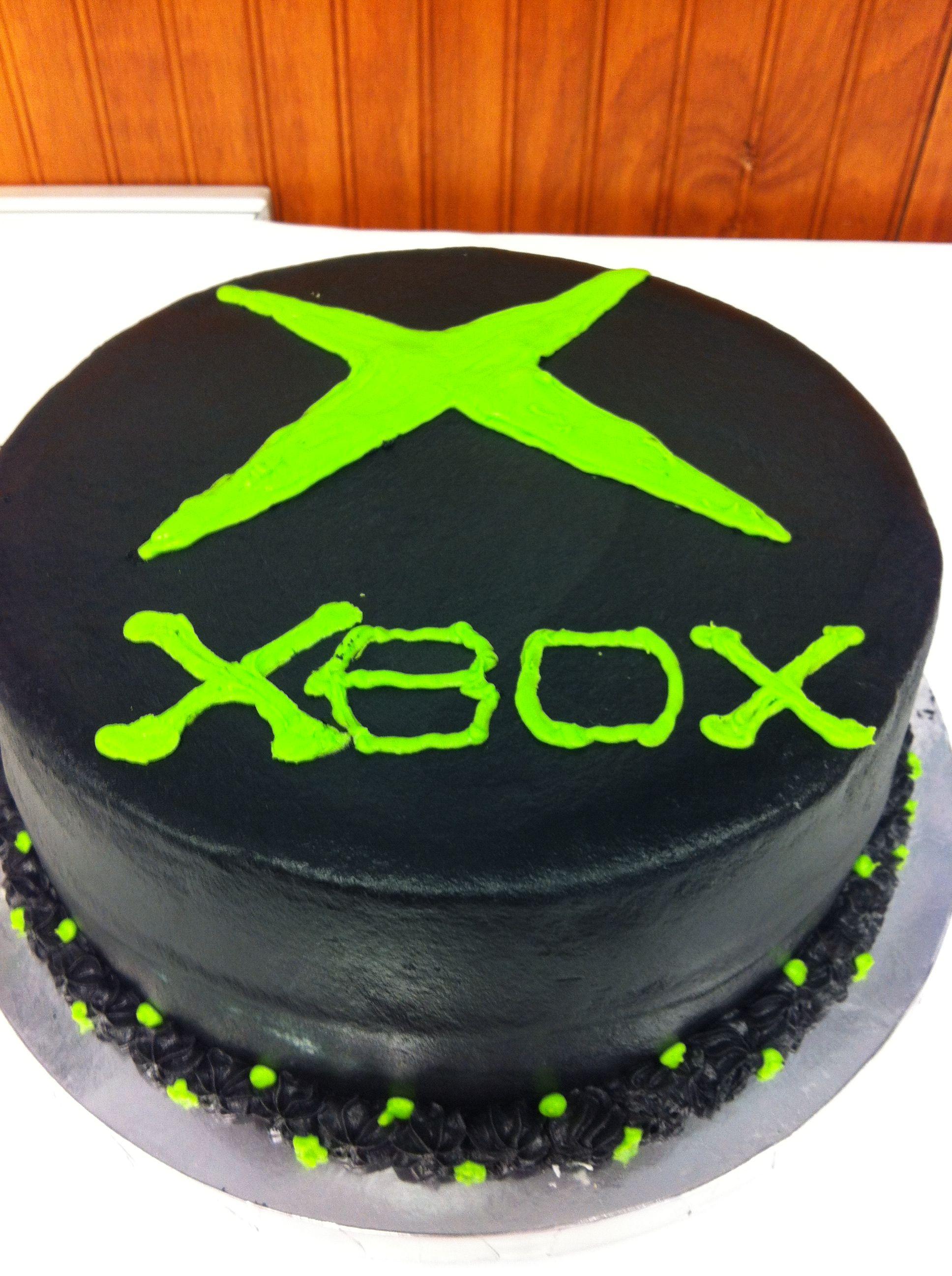 X Box Cake My Cakes Pinterest Cake Xbox Cake And Xbox One Cake