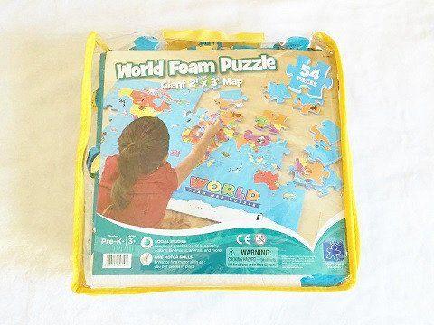 Educational Insights World Foam Map Puzzle | TBK Online Children\'s ...