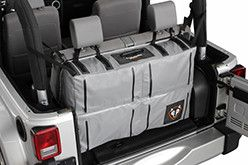 Rightline gear Jeep Trunk storage bag water proof secured in trunk of jeep