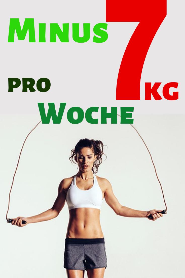 Wie man 10 kg in einer Woche mit Bewegung verliert