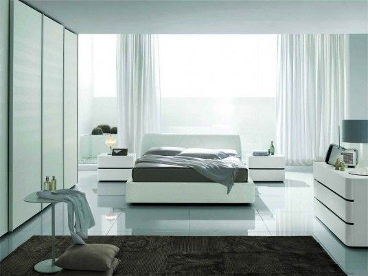 Modern Bedroom Furniture Ideas Real House Design White Bedroom