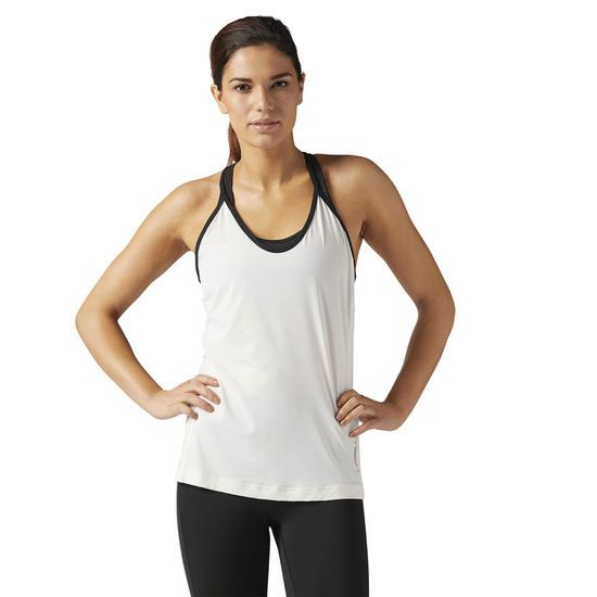 c3423d360d Reebok - LES MILLS Quick Cotton Tank  Move freely in the QUIK Cotton Tank  from