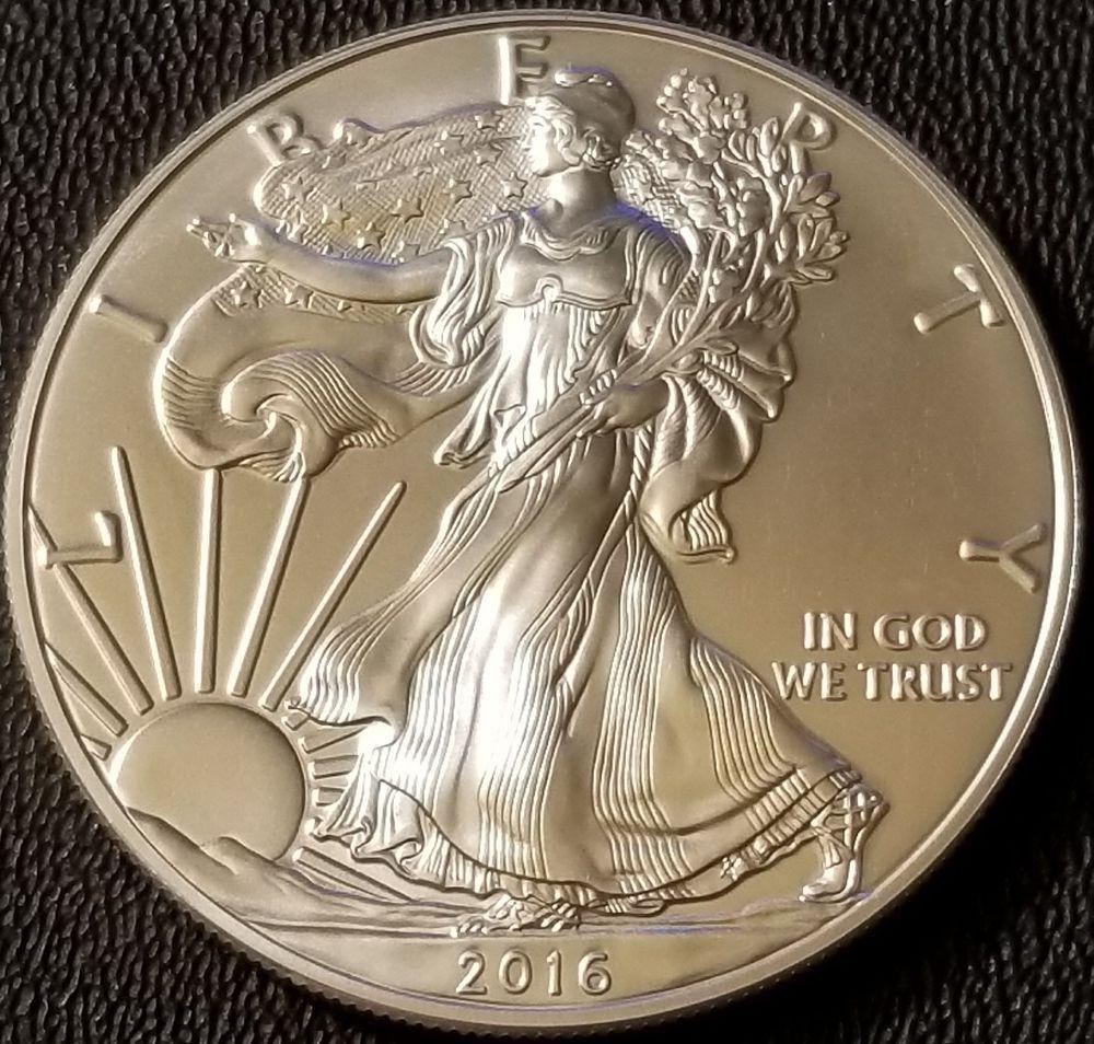 2016 American Silver Eagle 1 Oz Coin 999 Fine Silver Bullion Silver Bullion Bullion Coins Silver Eagles