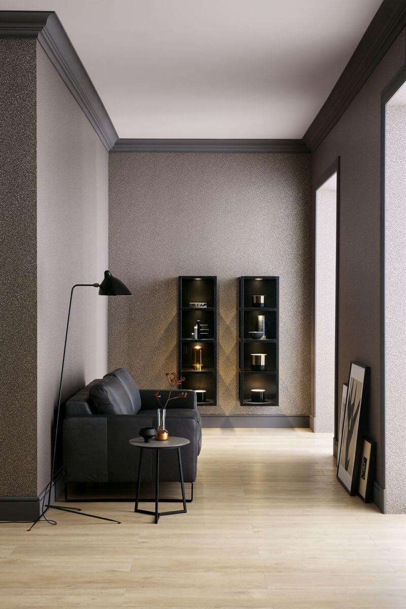 Mit Dieser Tapete Wird Das Zimmer Modern Und Absolut Stylisch Schoner Wohnen Schoner Wohnen Tapeten Wohnen