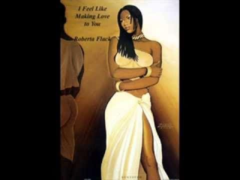 Ebony women making love
