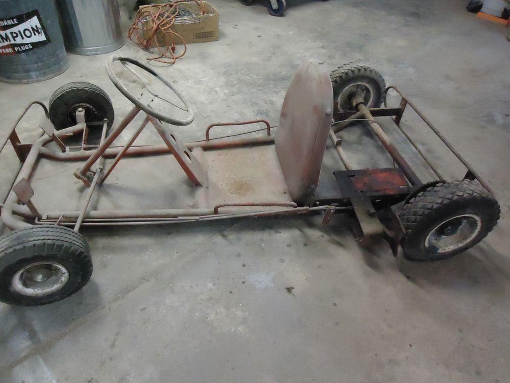 Vintage 1950 S Racing Go Kart Wildcat Hellcat Des Moines Iowa Frank Kurtis Go Kart Hellcat Des Moines Iowa
