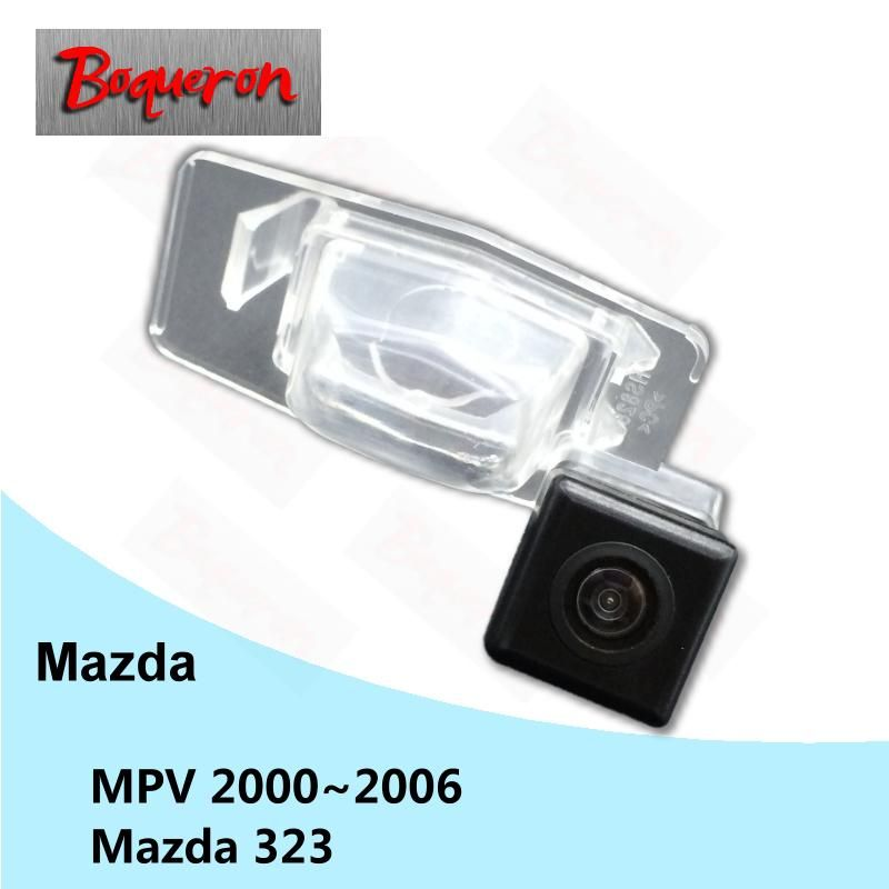Boqueron For Mazda Mpv 2000 2005 Mazda 323 Car Rear View Camera Hd Ccd Night Vision Reverse Parking Backup Camera Ntsc Pal Car Camera Rear View Camera Reverse Parking