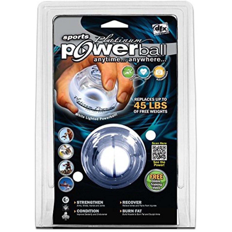DynaFlex Platinum LED Hand Strengtheners Powerball