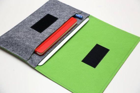 13 Macbook AIR Case 11 Macbook AIR Sleeve 13 by WeirdOldSnail