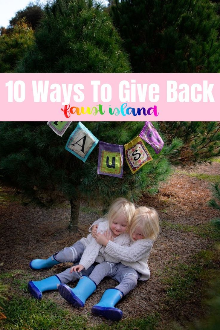 10 Ways to Give Back This Holiday Season Green Family