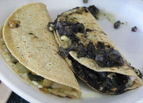 Recetas Quesadillas De Huitlacoche Recetas Mexicanas Comida Mexicana Recetas De Platillos Mexicanos