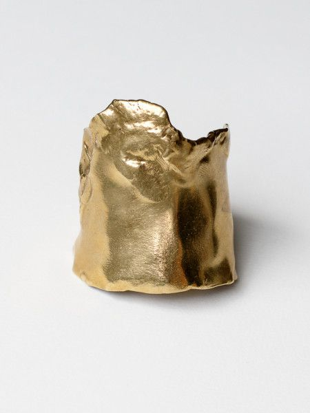 One of a kind hand formed brass cuff #contemporaryjewellery #contemporaryjewelry #handcrafted #bracelet #cuff #MichelleRoss #mnross #slowfashion #LagomCollection #oneofakind #lostwaxcasting