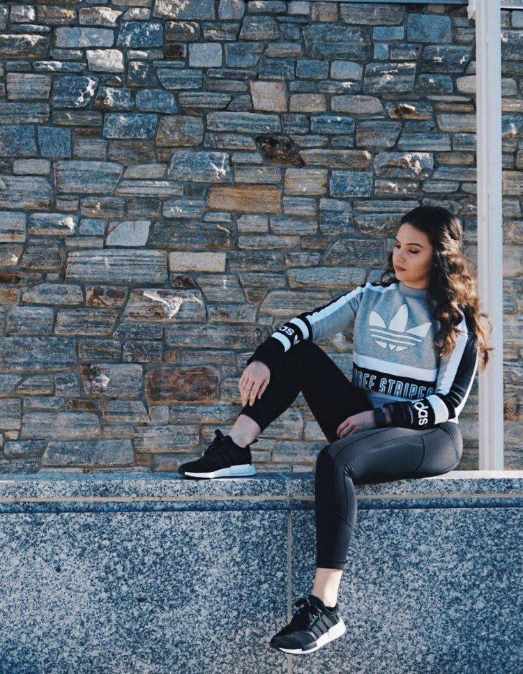 65ab0aae5 40 great outfits combined with Adidas NMD for women  40  great  outfits
