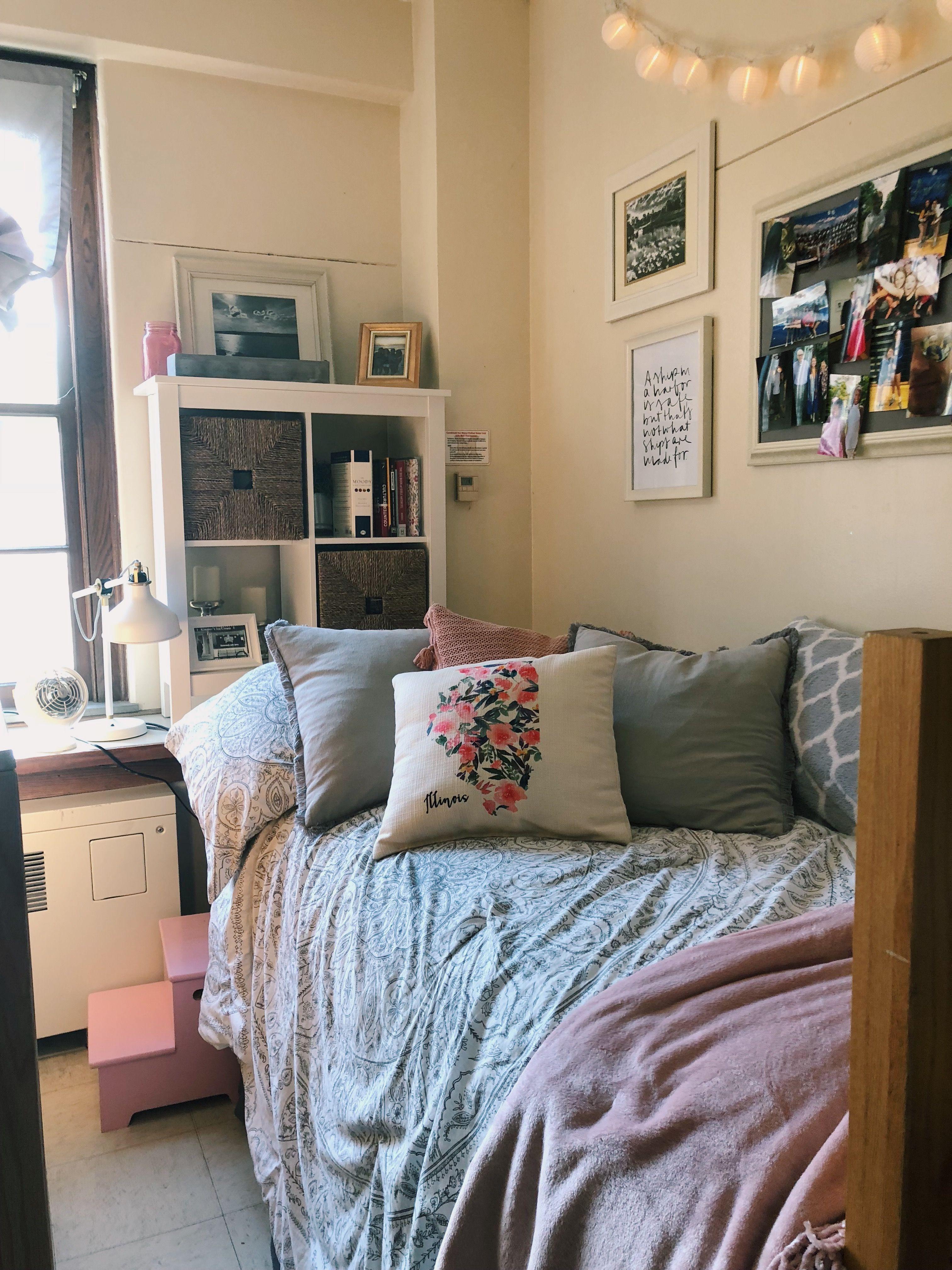 My freshman dorm room miami university tappan hall - Dorm living room decorating ideas ...