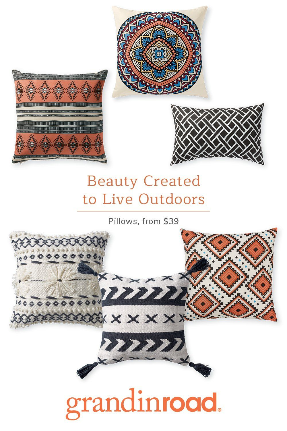Decorative pillows are an effortless way to instantly add