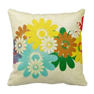 Spring Flowers Pillows