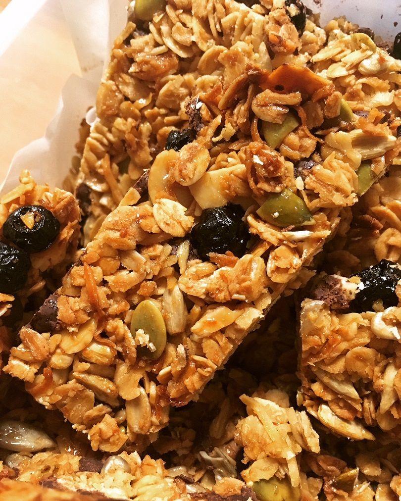 Superfood Honey Oat Bars