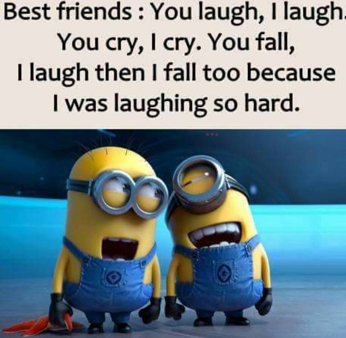 I want a friendship like this Funny minion pictures