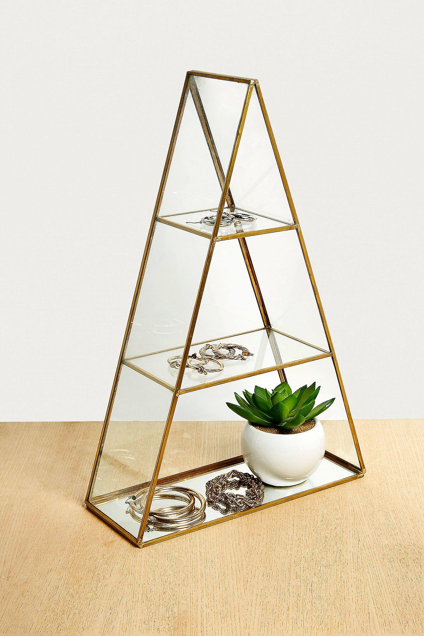 Grande boîte murale triangulaire | Urban Outfitters FR | Parement mural, Rangement bijoux, Urban ...