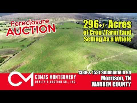 Foreclosure Auction Apr 23rd - 296+/- Acres of Crop/Farm