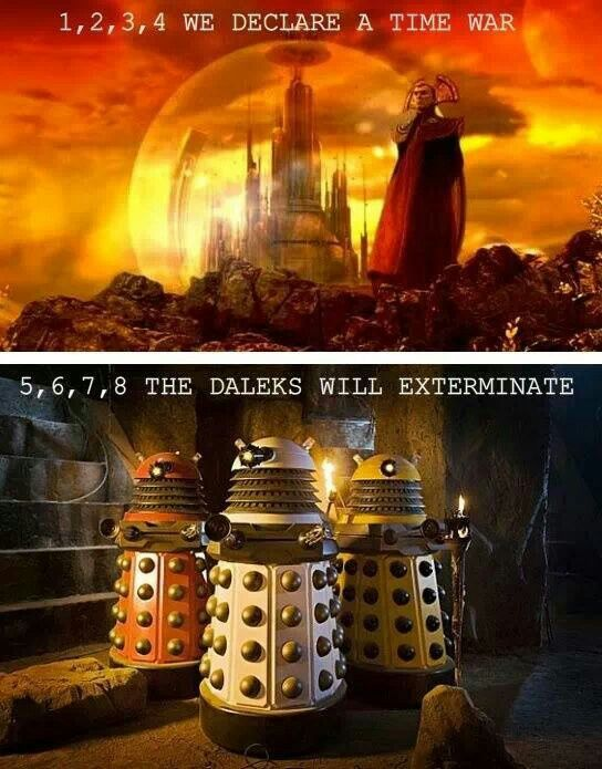 1 2 3 4 we declare a time war