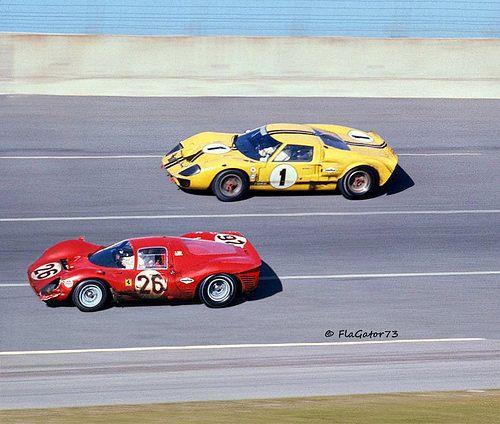 Ford Vs Ferrari At Daytona 1967 Louis Galanos With Images