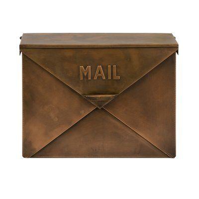 wall mount mailbox envelope. Envelope Wall-Mount Mailbox Wall Mount Mailbox Envelope L