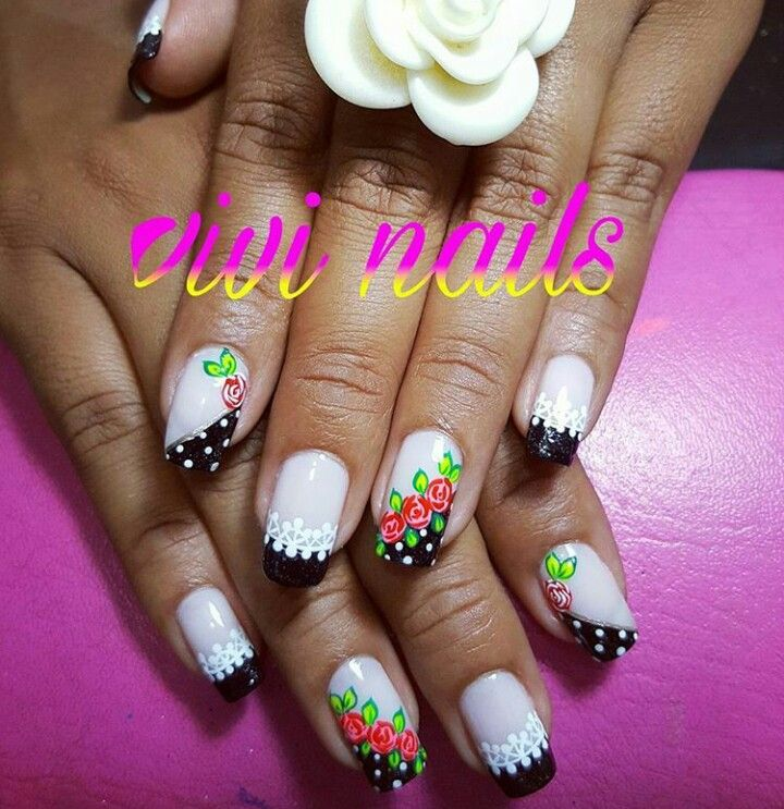 Pin by Ana Servin on uñas | Pinterest | Dope nail designs and Dope nails