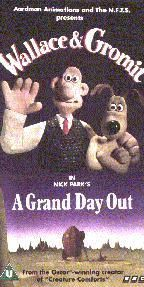 Wallace and Gromit. (: