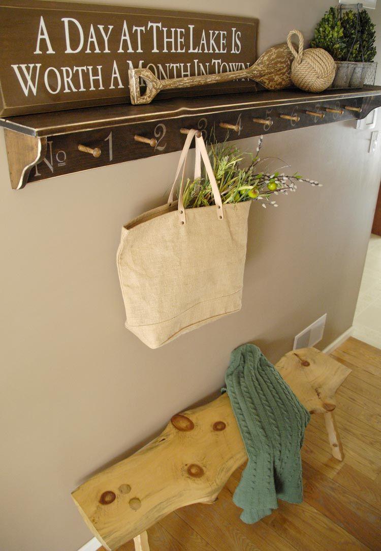 How to transform a plain coat rack using a Royal Design Studio ...
