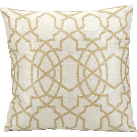 Club Lattice Throw Pillow