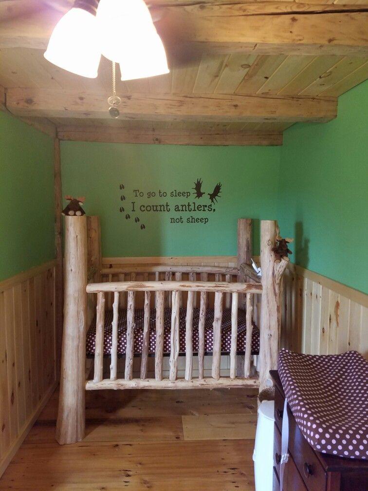 Pin de Kevin Bassett en Cedar log crib | Pinterest