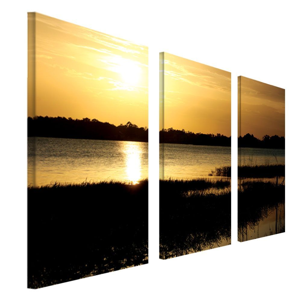 Trademark Fine Art Three 16x32 inch pieces \