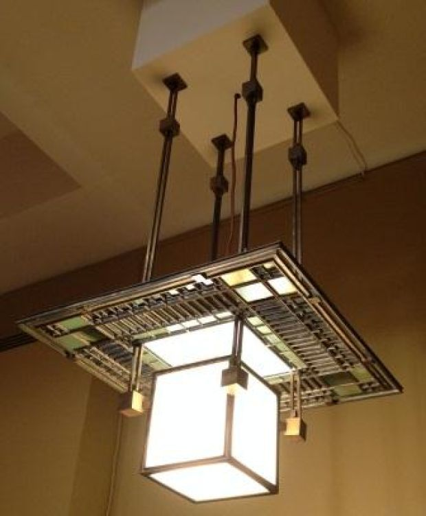 Ceiling Lamp, by Frank Lloyd Wright being purchased by the ...