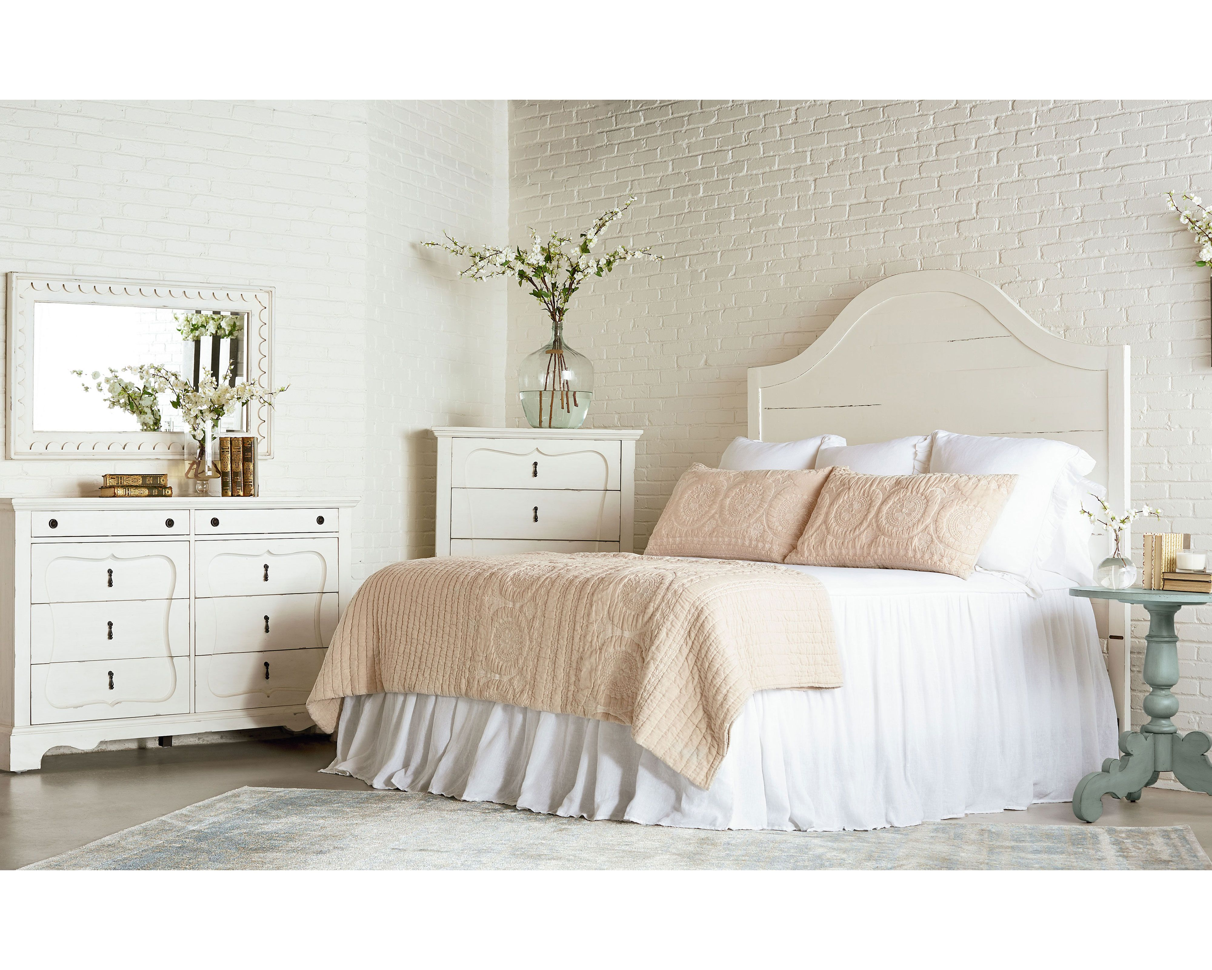 Magnolia Home French Inspired Bedroom now this one I could make