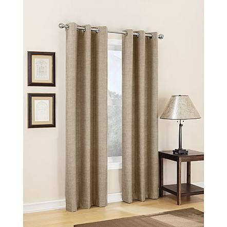 Kmart Second Layer Curtains 14 99 17 99 Jaclyn Smith Dean Energy Efficient Thermal Lined Grommet Window Panel Grommet Curtains Curtains Panel Curtains