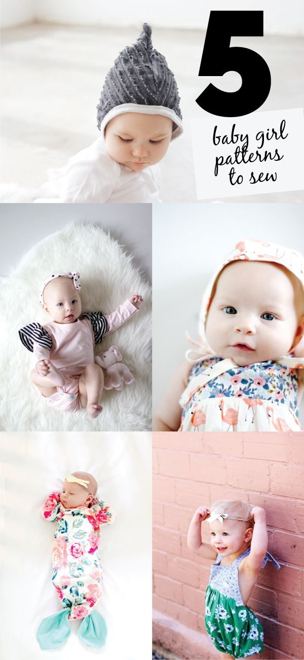 Photo of 5 Baby Girl Sewing Patterns you gotta try! – see kate sew