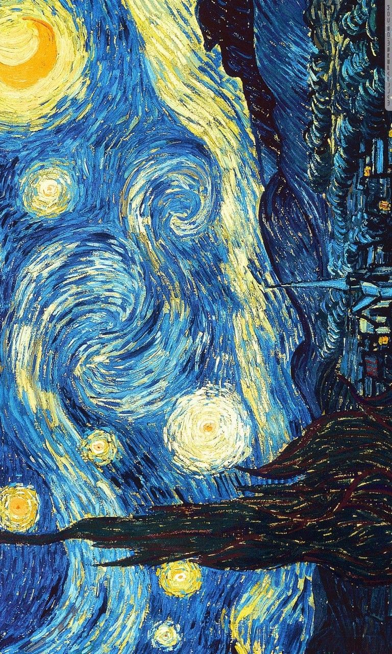 4k Wallpaper Best Ever Vincent Van Gogh Starry Night