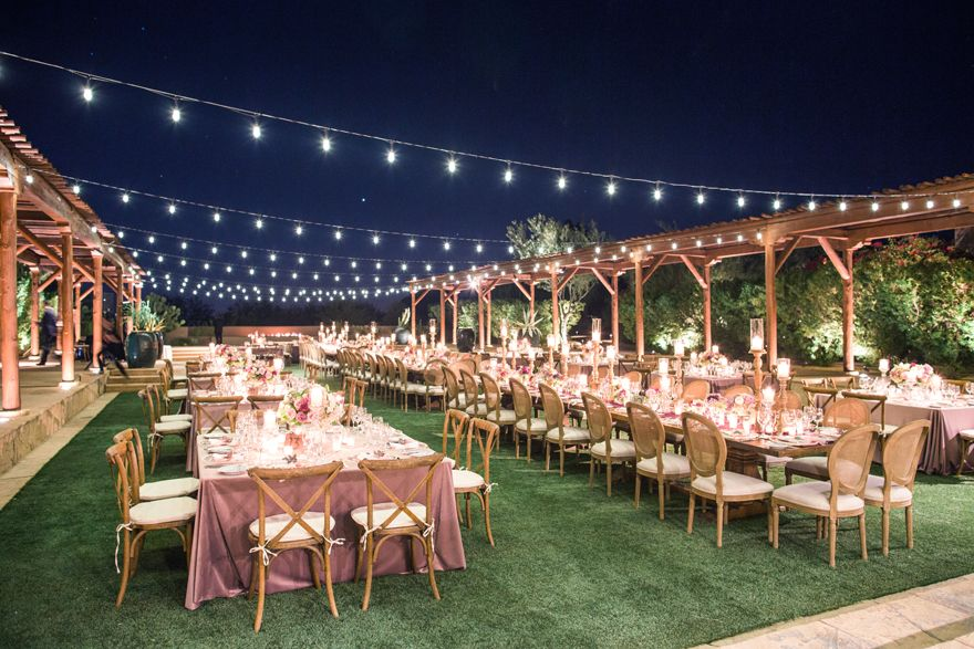 Sunset Wedding At The Four Seasons Scottsdale