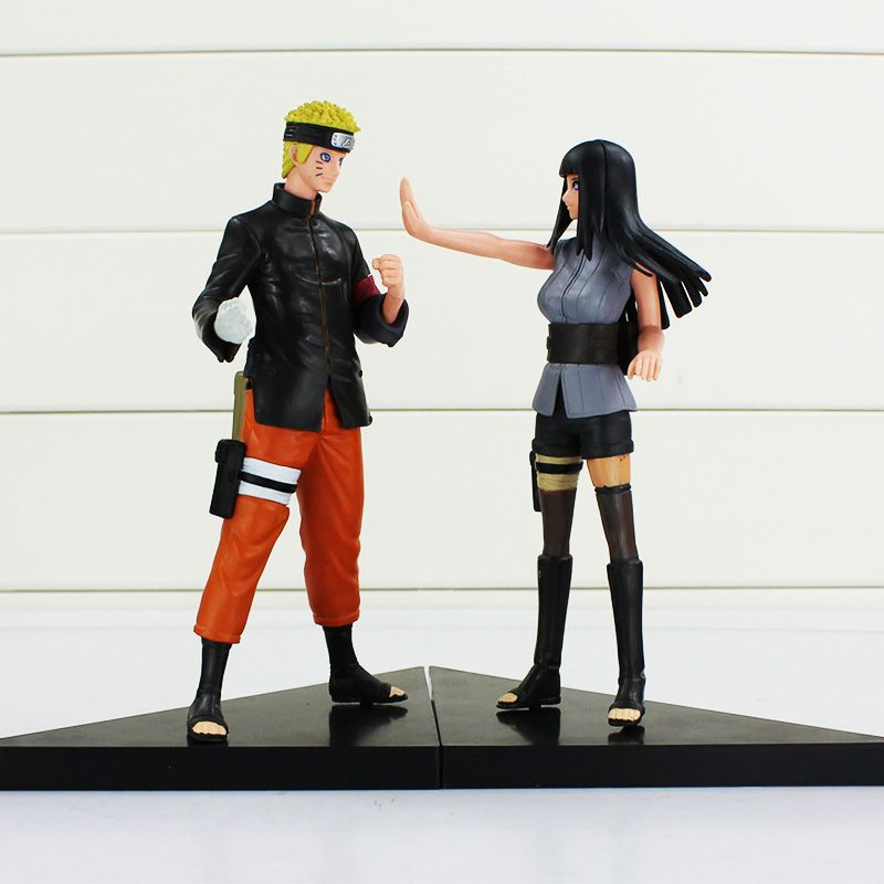 2pcs set 16cm Naruto + Hinata PVC Action Figure   Price   18.49 ✓Free  Shipping Worldwide Tag your friends who would want this! dc4db140e21