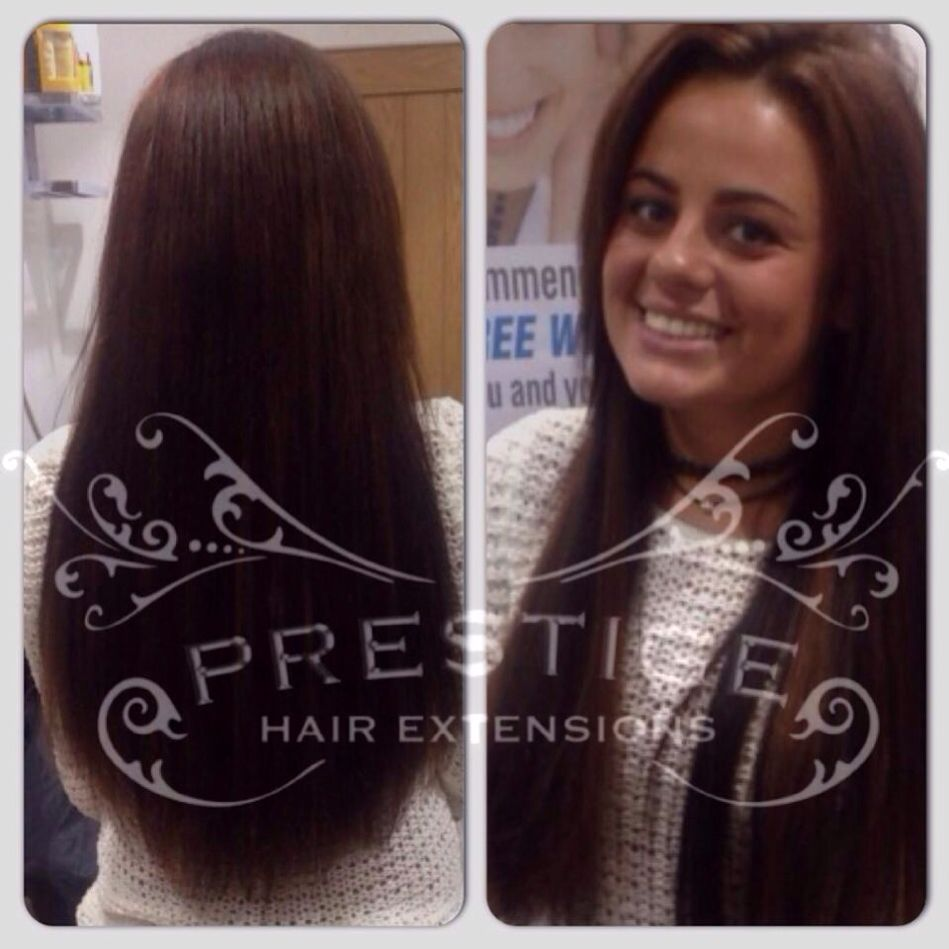 12 weeks after fitting remy AAAA russian standard Prestige Hair Extensions #keratin bonds #manchester #Stockport