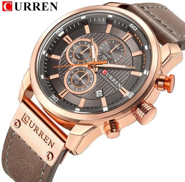 6929ce9ce1f Hot Offer CURREN Luxury Casual Men Watches Military Sports Male Wristwatch  Date Quartz Clock Chronograph Horloges Mannens Saat Relojes