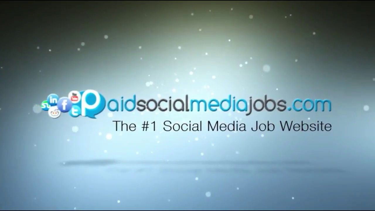 Paid Social Media Jobs Social Media Manager Jobs Paid Social