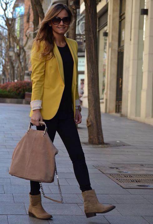 a8f6c17b Blazer amarillo | My style en 2019 | Ropa de moda, Moda y Ropa