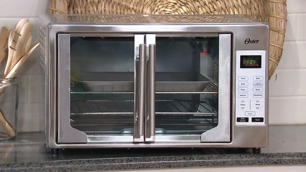 Oster Xl Digital Convection Oven W French Doors Qvc Com
