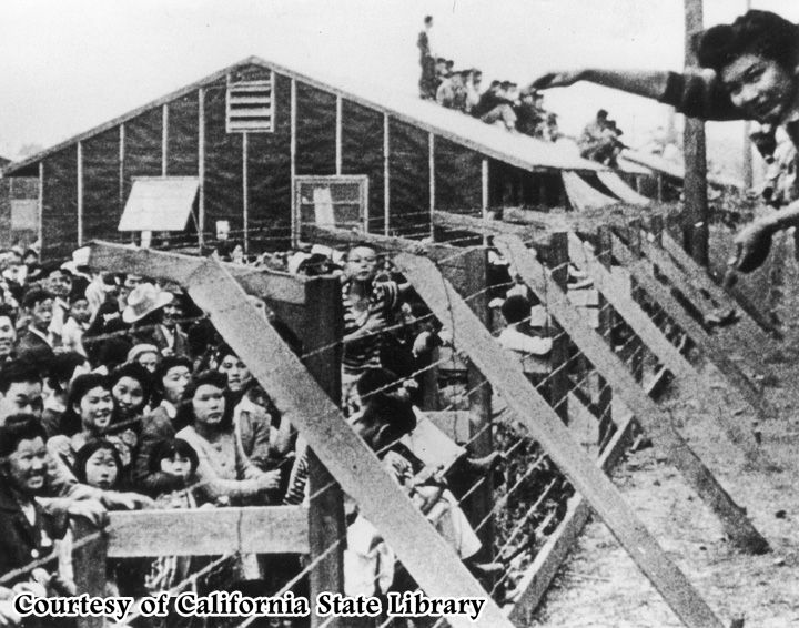 Image result for Japanese-American internment camps during world war II